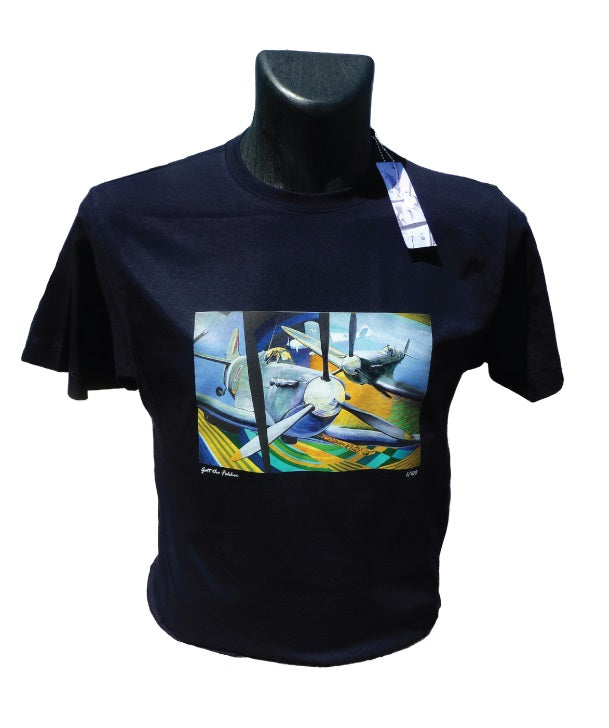 'Gott the Fokker' T-Shirt featuring original painting by David Bent