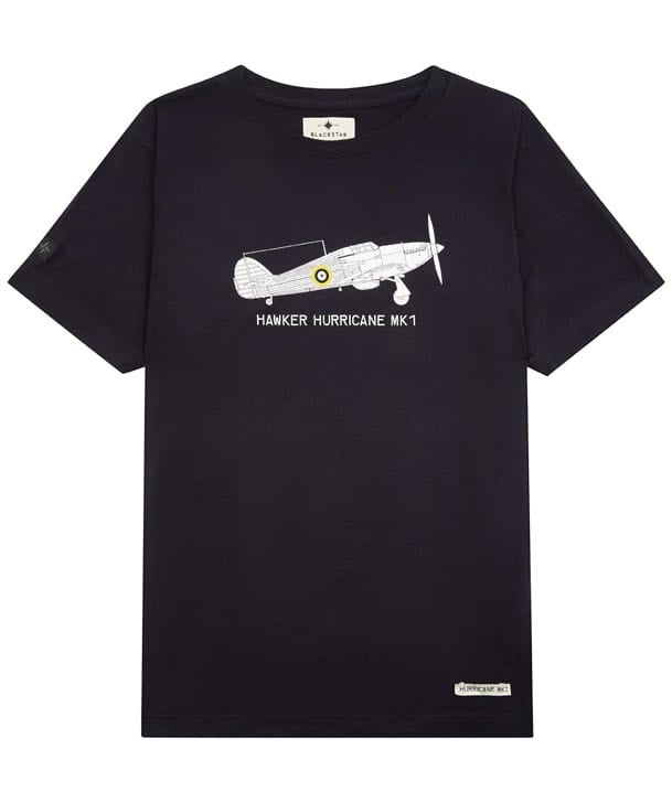 Hurricane T-Shirt in Navy