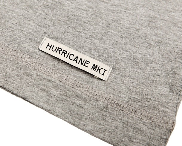 Hurricane T-Shirt showing Hem Tag detail