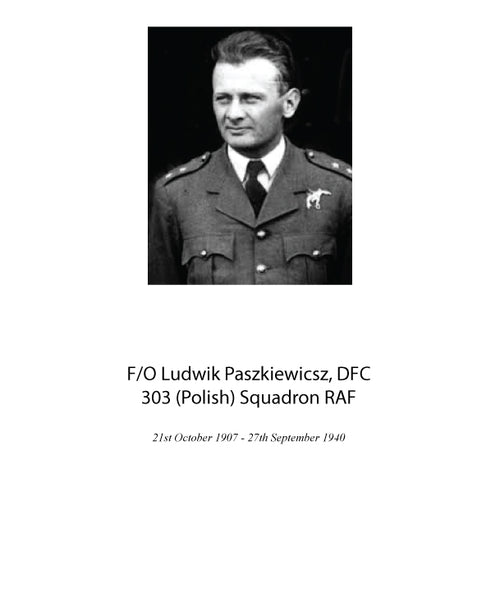 Flying Officer Ludwik Paskiewicsz, DFC