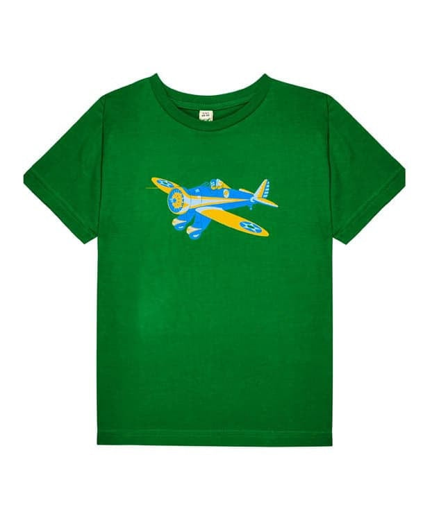 Little Wings Child's Peashooter Tee Shirt in Green