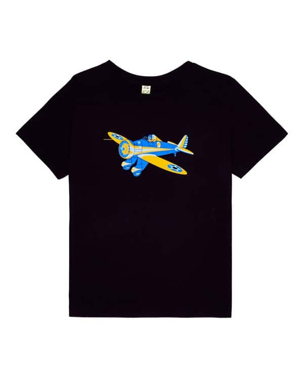 Little Wings Child's Peashooter Tee Shirt in Navy