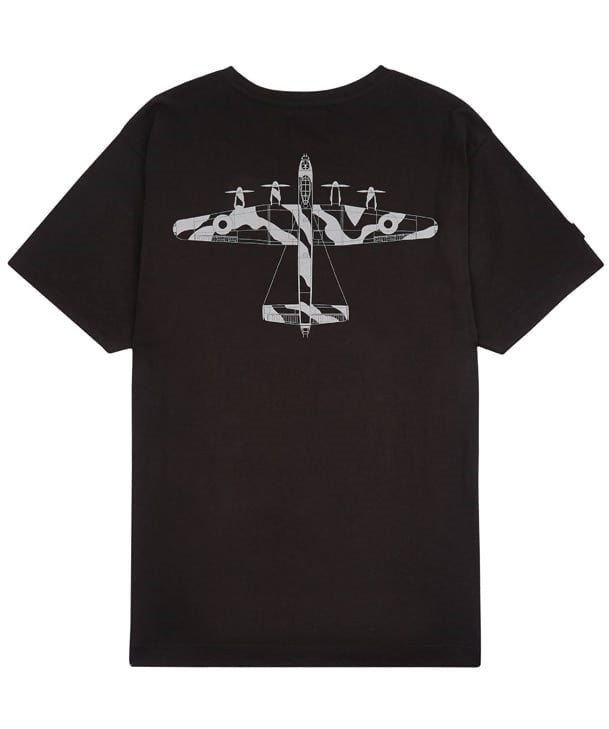 Lancaster Tee Shirt Back in Black