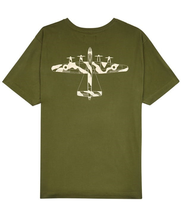Lancaster Tee Shirt Back in Green