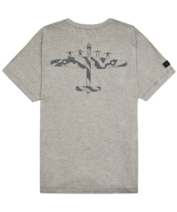Lancaster Tee Shirt Back in Grey