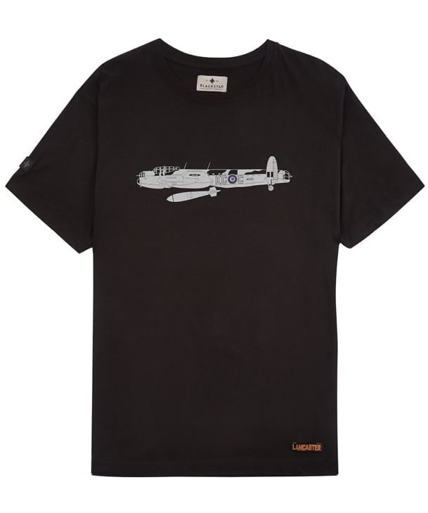 Lancaster Tee Shirt Front in Black