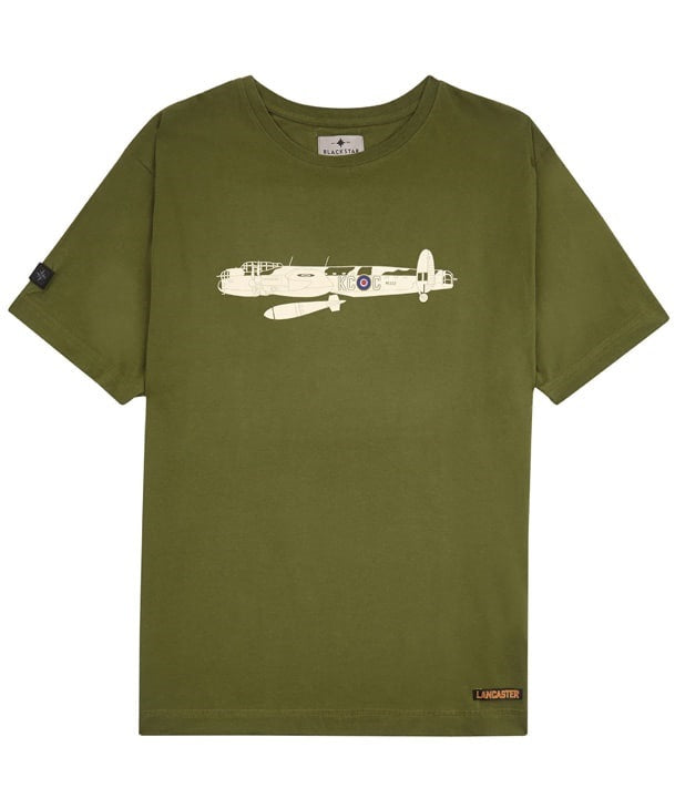 Lancaster Tee SHirt Front in Green