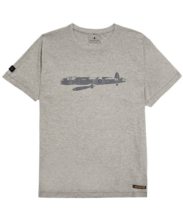 Lancaster Tee Shirt Front in Grey