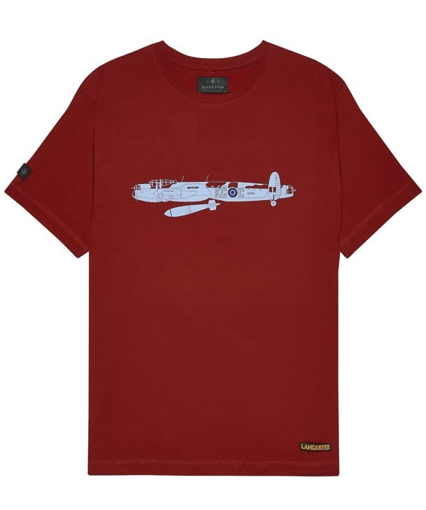 Lancaster Tee Shirt Front in Red