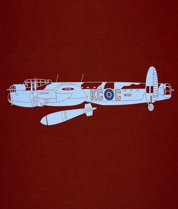 Lancaster Side Profile Graphic