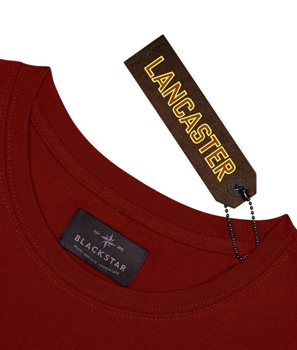 Lancaster Swing Tag Front