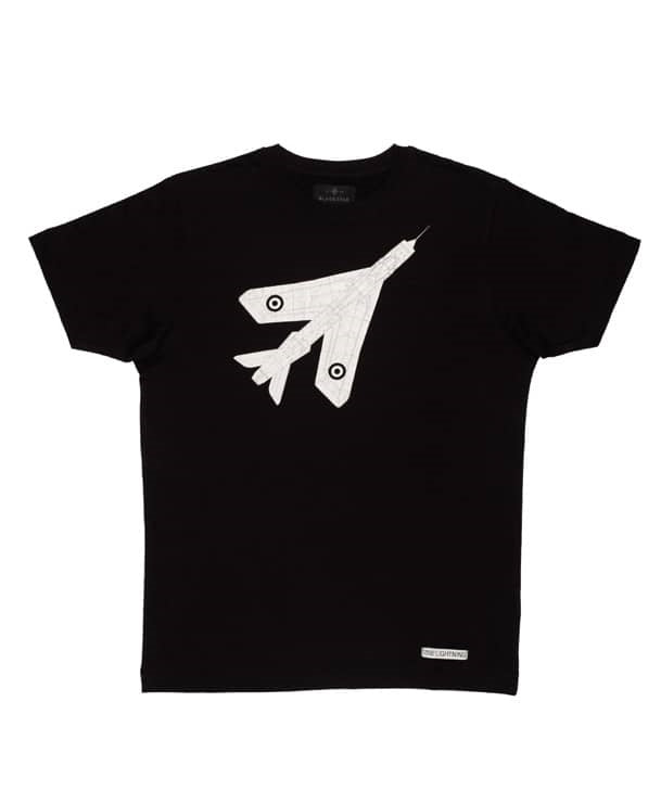Lightning Tee Shirt in Black