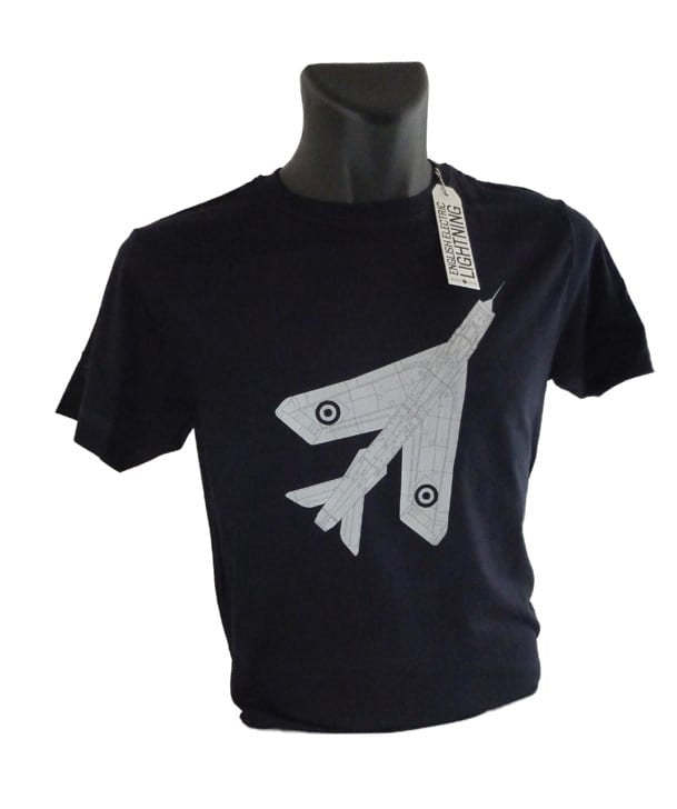 Lightning Fighter Jet Tee Shirt