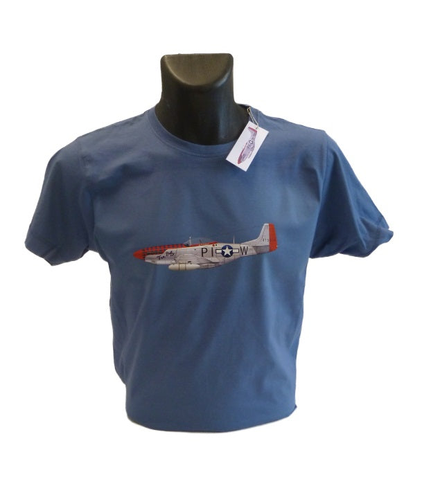 P-51D Mustang T-Shirt featuring 'Tan Baby'