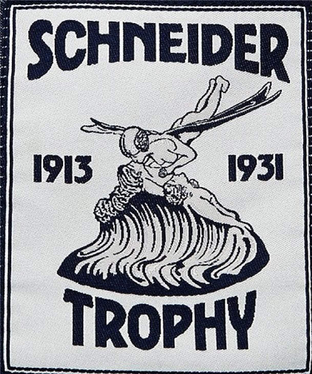 Schneider Trophy Air Race Applique Badge