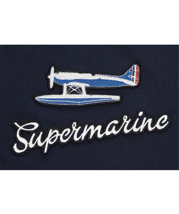 Supermarine S6 Air Racer Applique Badge on Navy