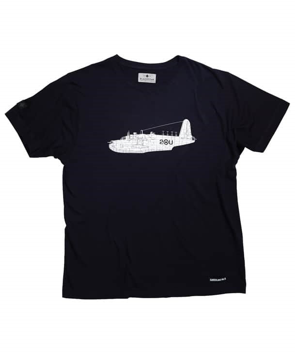 Sunderland Tee Shirt front in Navy