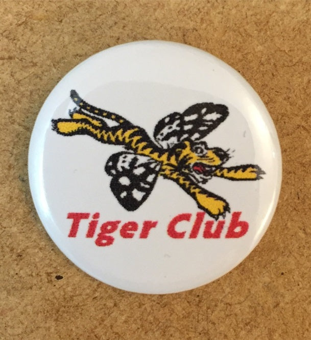 Tiger Club Logo 25mm Pin Badge