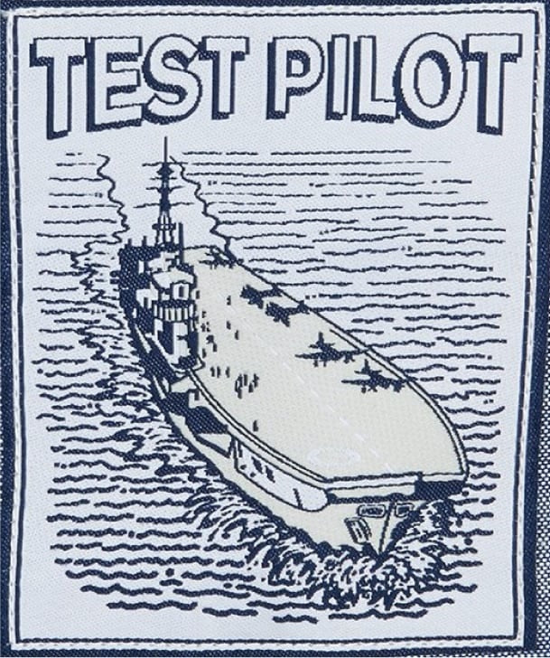 Test Pilot Patch Badge