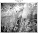 Nazi Supergun Aerial Photo of Mimoyecques Site
