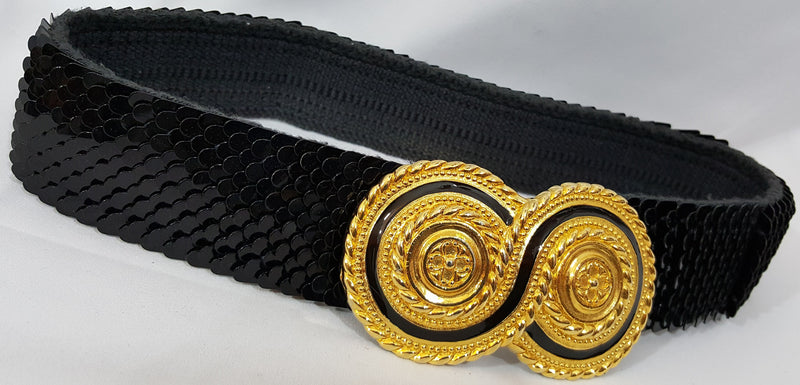 Vintage Sequin Belt