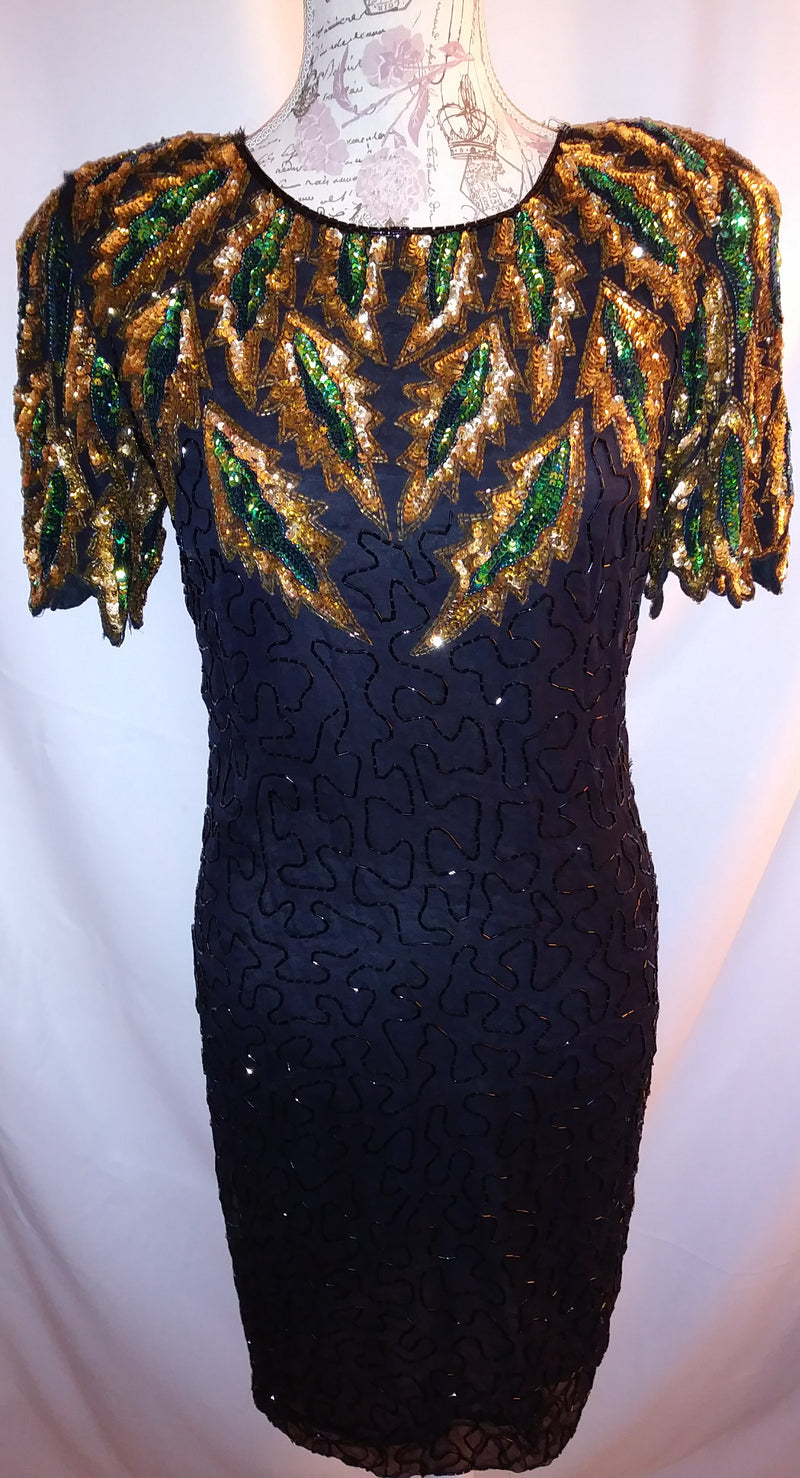 Carina sequin dress sz small