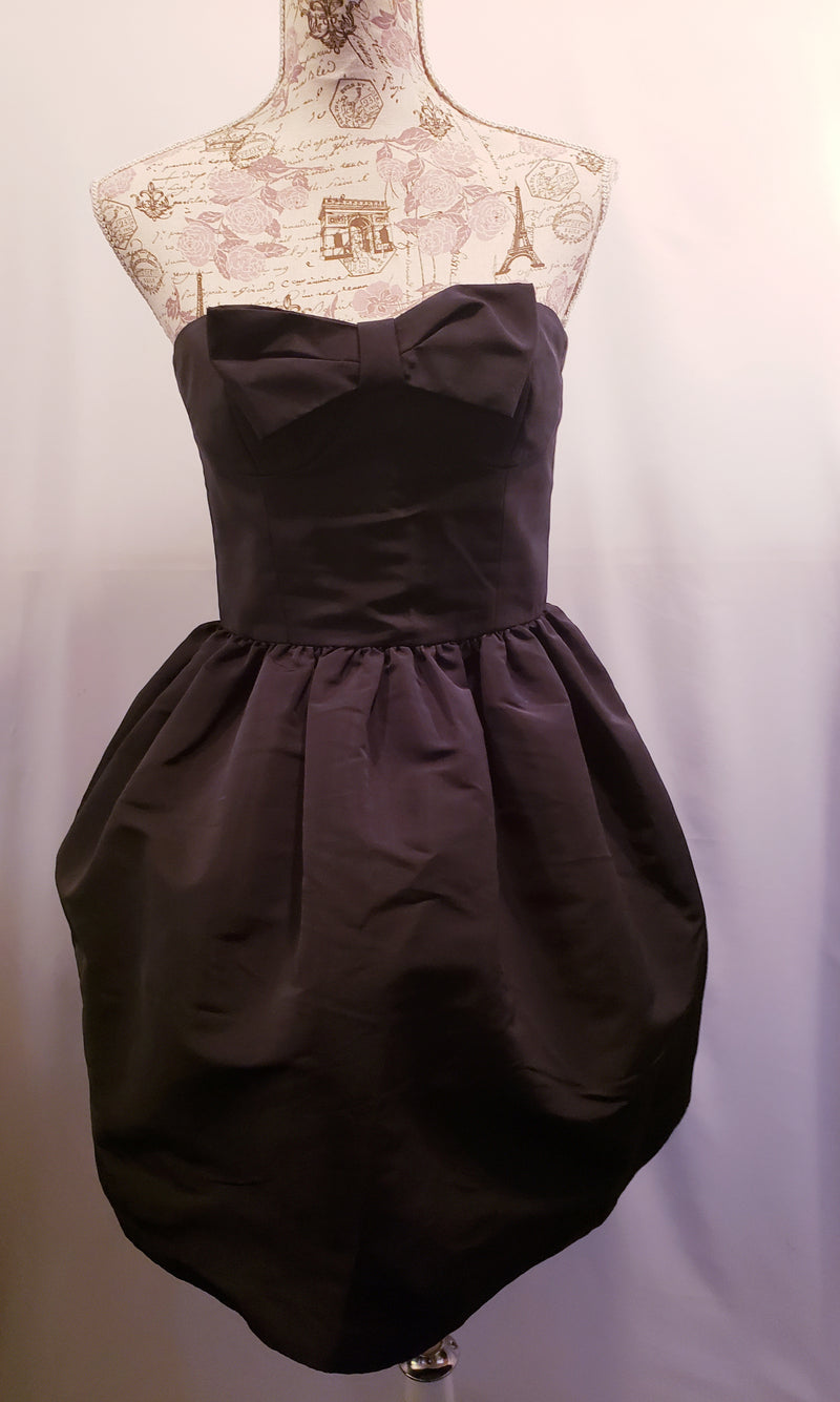 Red Valentino Black Cocktail Dress Size 4