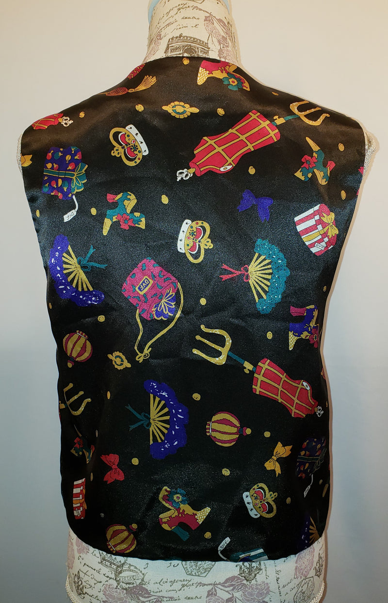 Diane Von Furstenburg Vest Size Medium