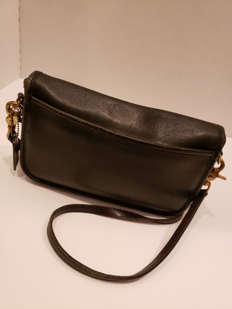 Coach Black Leather Crossbody