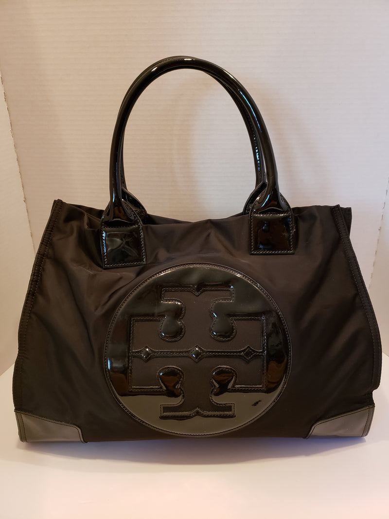 Tory Burch Large Black Tote