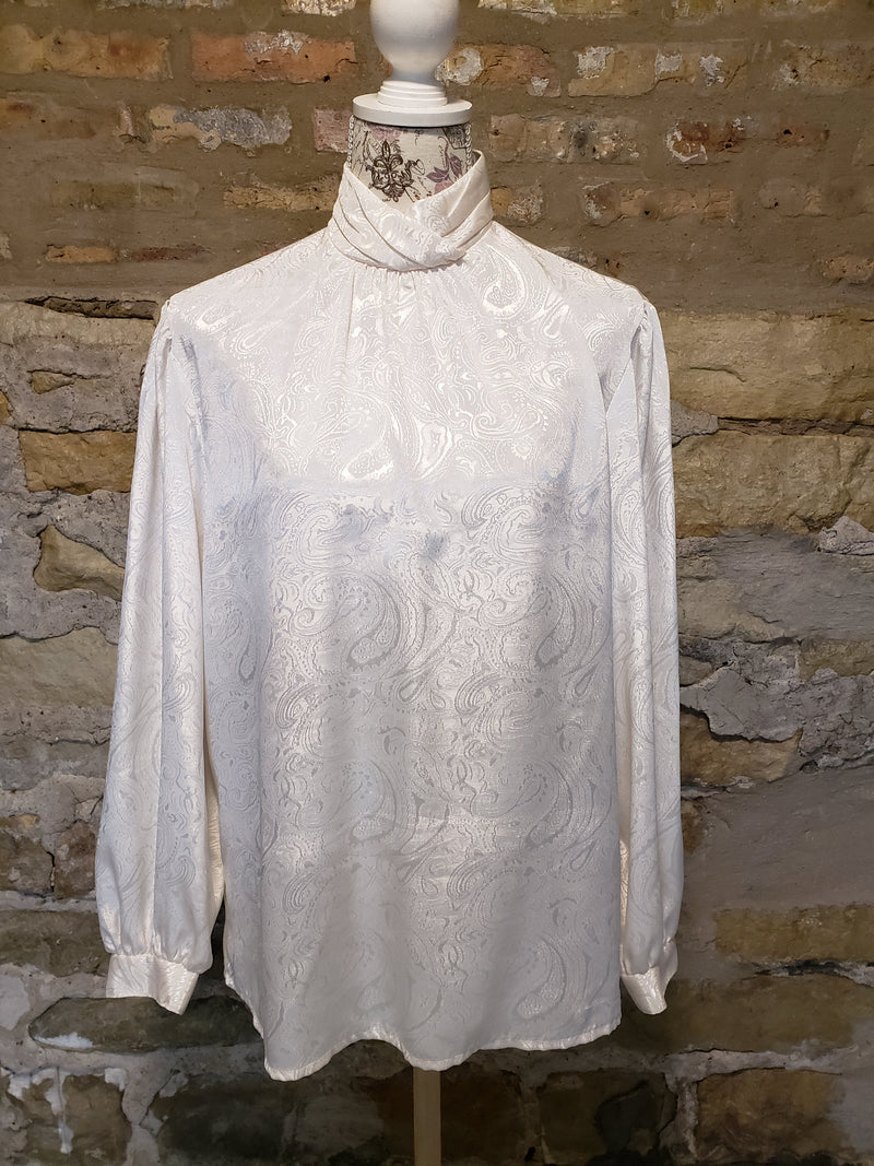 Alice Vintage White Blouse Size 14