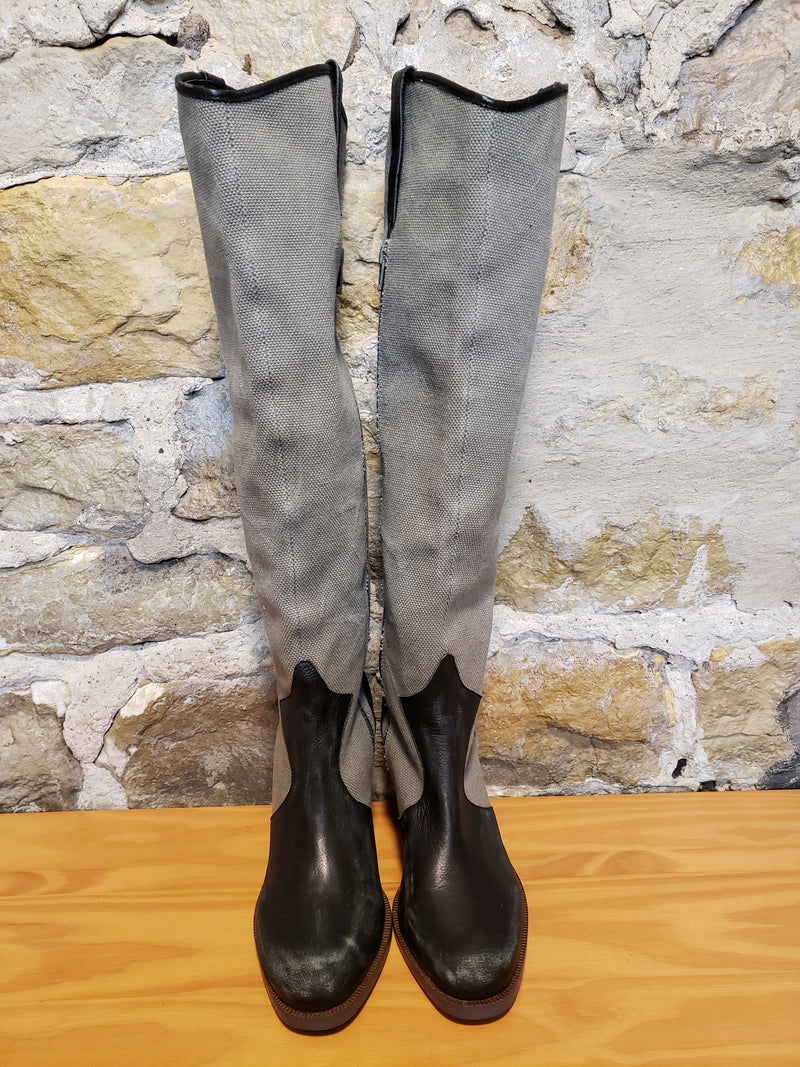 Faryl Robin + Free People Knee Boots Size 9