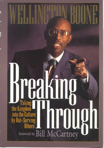 Breaking Through Hardback Book