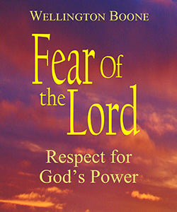 Fear Of The Lord: Respect for God's Power