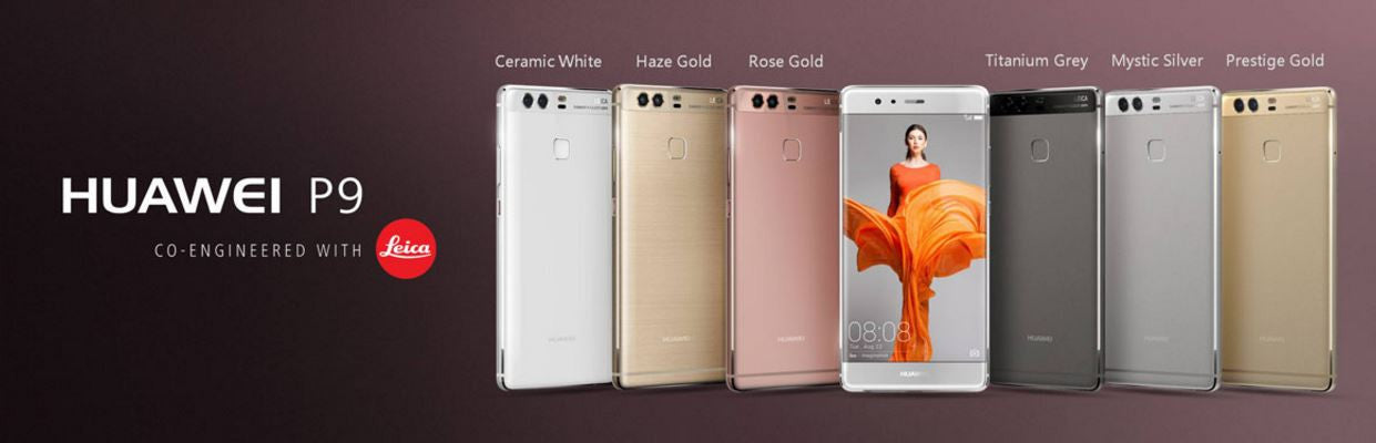 The Huawei P9 Range - P9 Lite, P9 & P9 Plus