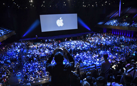 What is it like to attend an Apple Launch Event?