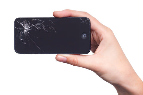 What Your Smashed Phone Screen Says About You