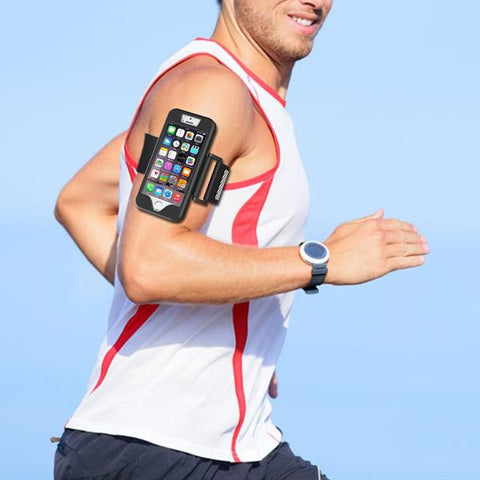 Smartphone armbands will keep your phone in place while you work out