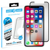 Gadget Guard Black Ice Cornice Curved Tempered Glass for Apple iPhone X / XS
