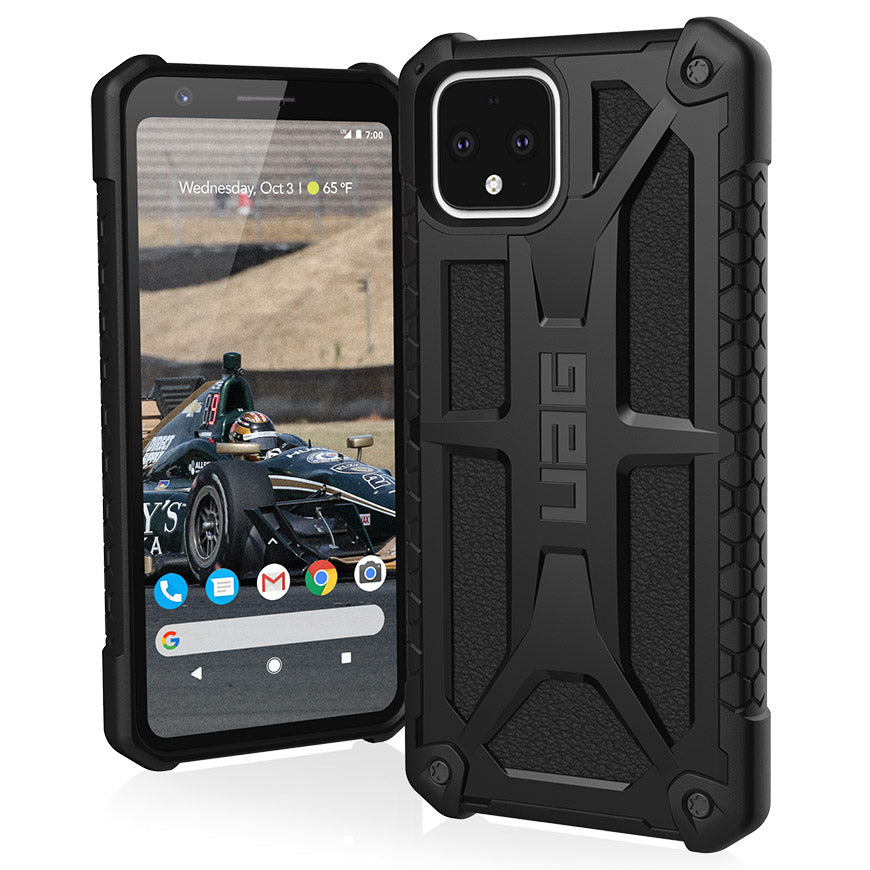 Urban Armor Gear (UAG) Monarch Tough Rugged Case for Google Pixel 4 - Black