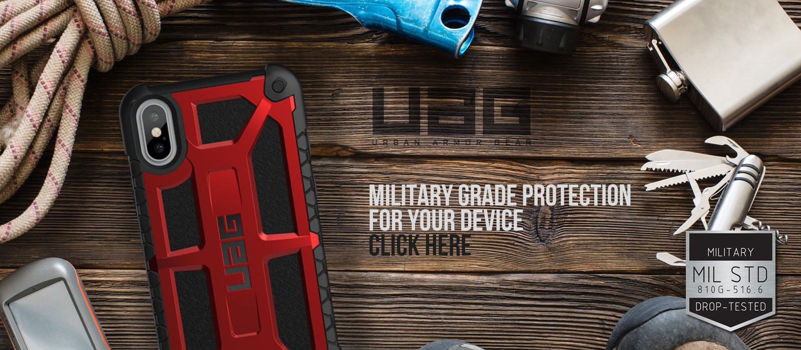 Urban Armor Gear at GadgetWear UAG