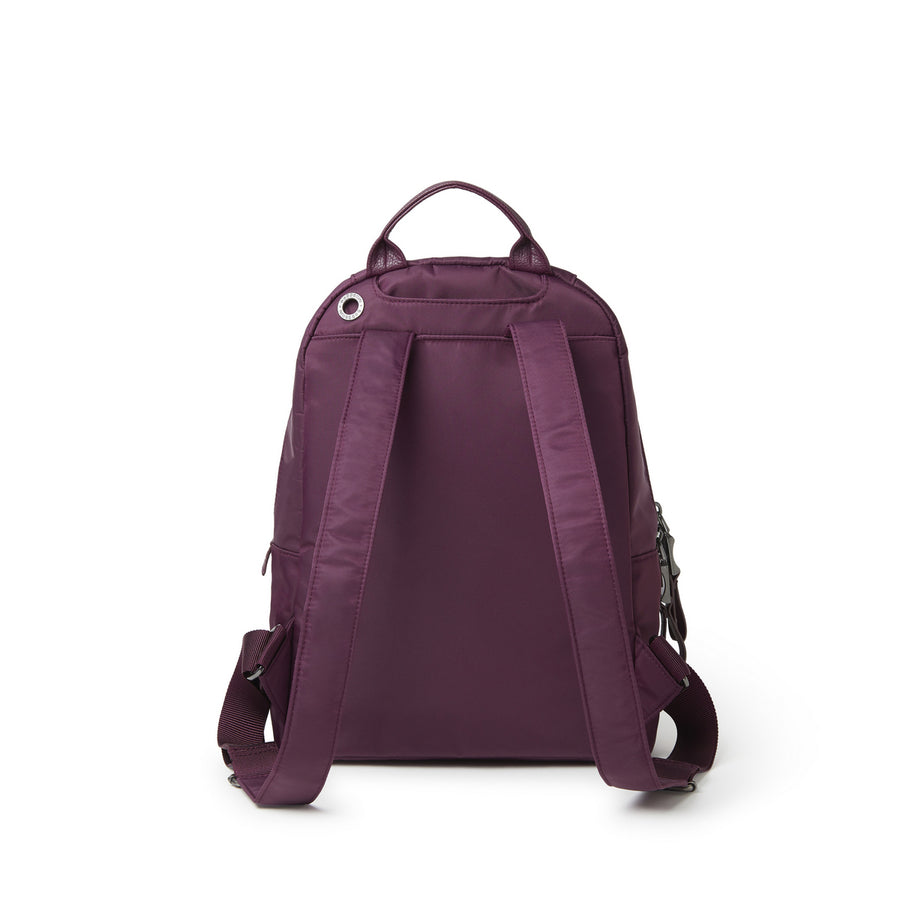 Baggallini Central Park Backpack - Plum Berry
