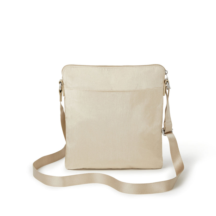 Baggallini Go Bagg with Wristlet - Champagne