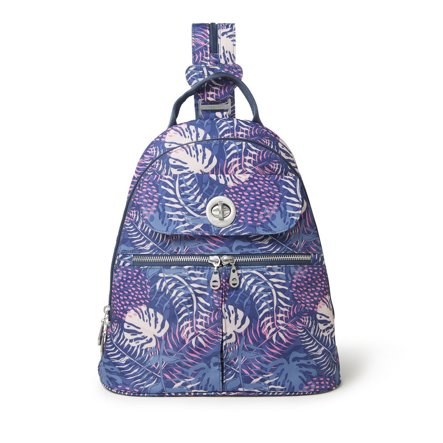 Baggallini Naples Convertible Backpack - Aloha Print