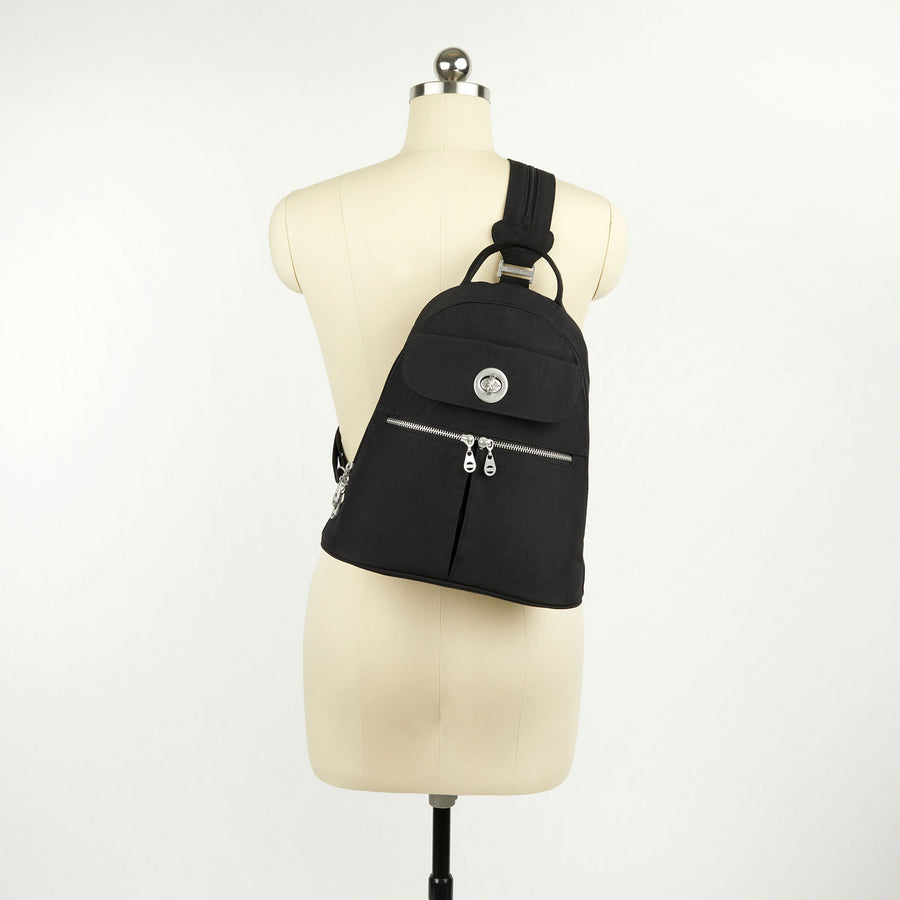 Baggallini Naples Convertible Backpack - Black