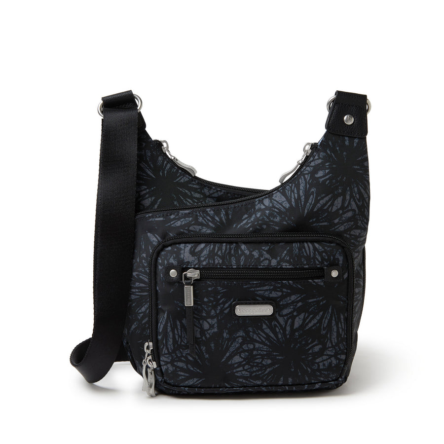RFID Cross City Bagg - Onyx Floral
