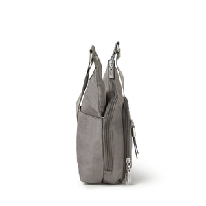 Baggallini RFID Cross City Bagg - Sterling Shimmer