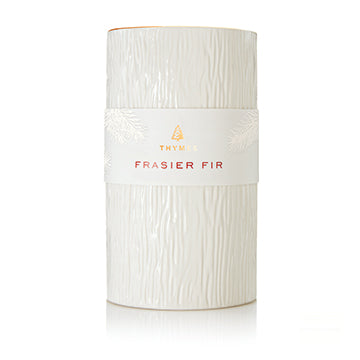 Frasier Fir Ceramic Pillar Candle