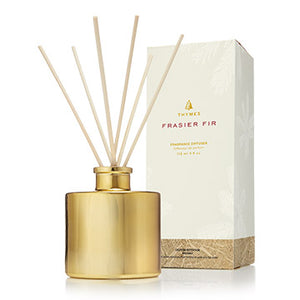 Frasier Fir Petite Gold Reed Diffuser