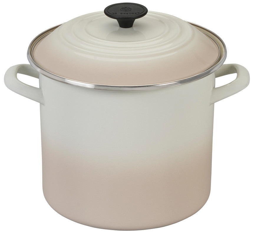Le Creuset Enameled Steel Stockpot - 8 Quart